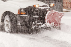 commercial snow removal contracts in New Berlin